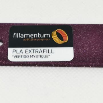 Mostra printata de PLA ExtraFill Vertigo Mystique