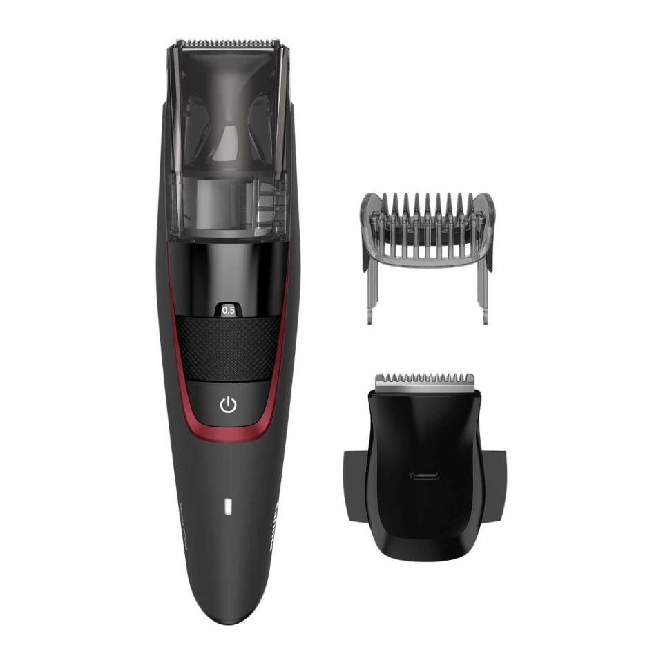 Aparat de tuns barba Philips BT7500/15, 100 min, Series 7000, 20 trepte, otel, Negru