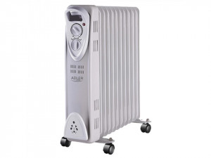 Calorifer electric Adler AD 7809, termostat, 11 elemente, 2500W