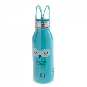 "Sticla apa ""Zoo"" 430 ml inox, model bufnita - Aladdin"