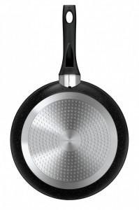Tigaie Smile MPC-30/11/01, 30 cm, aluminiu forjat, antiaderenta, maner soft-touch, inductie