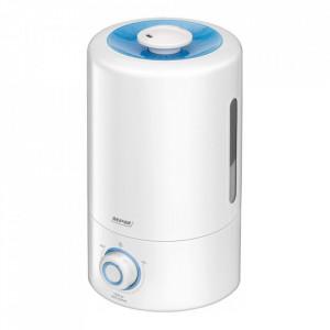Umidificator MPM MNP-03, 25W, 5 litri, 300ml/h, acoperire 20-30 m2, reglarea directiei de umidificare 360 grade, filtru ceramica, oprire automata, alb