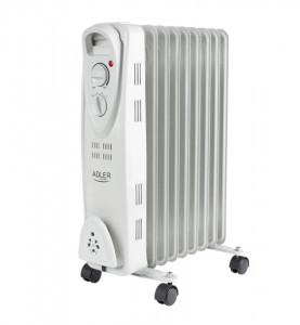 Calorifer electric Adler AD 7808, termostat, 9 elemente, 2000W