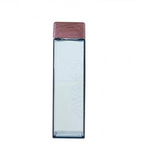 Sticla apa cu forma patrata si capac din lemn Allocacoc DH0262