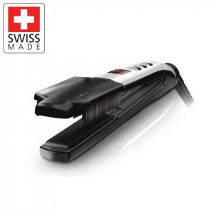Placa de par si perie de indreptare a parului Valera Swiss'x Super Brush&Shine