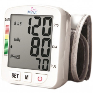 Tensiometru digital pentru incheietura mainii Minut