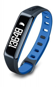 Bratara de monitorizare activitate fizica Beurer AS80C, albastru