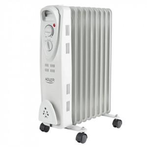 Calorifer electric Adler AD 7807, termostat, 7 elemente, 1500W