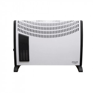 Convector electric Adler AD 7705, termostat, 750-1250-2000W, turbo fan