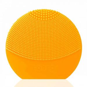 Dispozitiv de curatare a tenului Foreo LUNA Play Plus, Sunflower Yellow