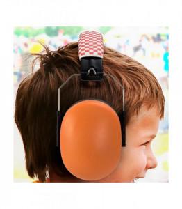 Alecto - Casti de protectie fonica pentru copii (portocaliu)