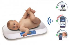 Cantar Smart pentru bebelusi Laica PS7030