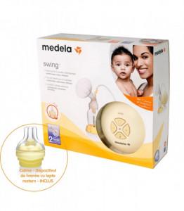 Pompa electrica bifazica pentru san Medela - Swing + Calma