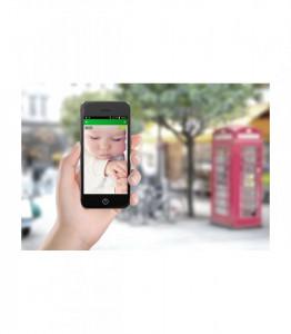 Alecto baby Sistem audio-video de monitorizare cu camera cu wi-fi si ecran tactil HD 5/12,7cm