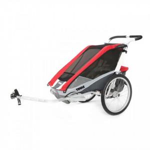 Carucior Thule Chariot Cougar 2 Red - Seria Sport