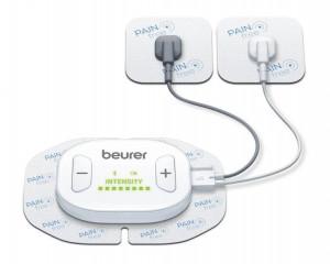 Dispozitiv digital TENS/EMS cu telecomanda, 4 electrozi, 1 canal Beurer EM70 Wireless