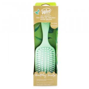 Perie pentru par Wet Brush Go Green Healthy Scalp Tea Tree Oil Infused