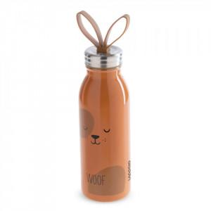 "Sticla apa ""Zoo"" 430 ml inox, model caine - Aladdin"