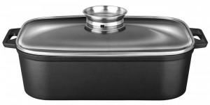 Vas termorezistent Smile SBR-3, 7 litri, Whitford Xylan Plus, aluminiu, aromatizator, inductie