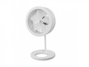 Ventilator de masa Naos alb cu variator de turatie