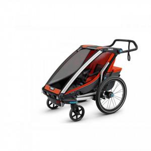 Carucior multisport Thule Chariot Cross 1 - Roarange/Dark Shadow