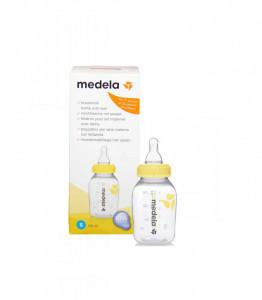 Medela - Biberon 150ml cu tetina din silicon S