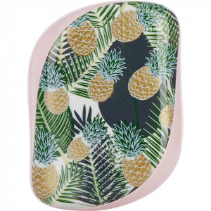 Perie pentru par Tangle Teezer Compact Styler Smooth & Shine Palms & Pineapples