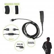 Pryme Snp2w20bf Cable Para Microfono Audif