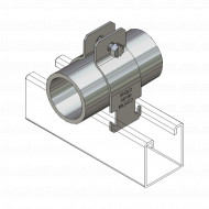 Ancau34 Anclo tuberia metalica conduit /