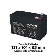 Pl812 Epcom Powerline baterias