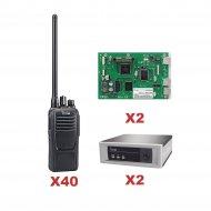 Icom Icf1100d14trunk SISTEMA TRONCAL VHF D