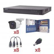 Kh1080p8bw Hikvision turbohd de 8 canales