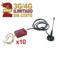 M2m Services Kit10mini014g KIt De 10 Comun