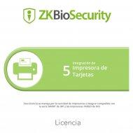 Zkbscp5 Zkteco control de acceso