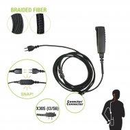 Pryme Snp2w30sbf Cable Para Microfono Audi
