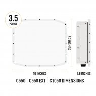 Optex C1050 barreras de microondas