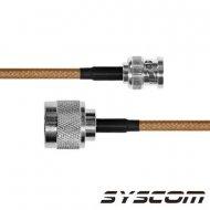 Epcom Industrial Sbnc142n60 Cable RG-142/U