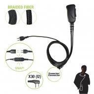 Pryme Snp1w30bf Microfono Con Cable De Fib