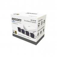Epcom Lb7kit4m Sistema Completo De 4 Camar
