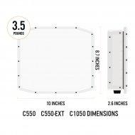 C550cext Optex barreras de microondas