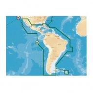 00011387001 Simrad Mapas 3XG Del Caribe Centro Y Su