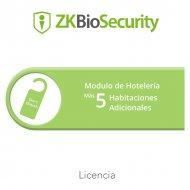 Zkteco Zkbshotel5add Licencia Para ZKBiose