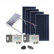 Epcom Kit2bdm600poli Kit Solar Para Interc