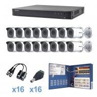 Kevtx8t16bw Epcom turbohd de 16 canales