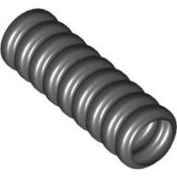 Black Hose, Ribbed 7mm D. 3L - used