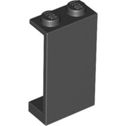 Black Panel 1 x 2 x 3 - Solid Studs - used