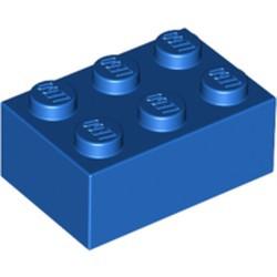 Blue Brick 2 x 3 - used