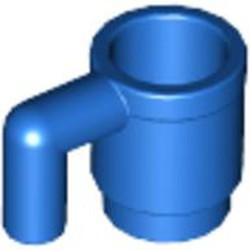 Blue Minifigure, Utensil Cup - used