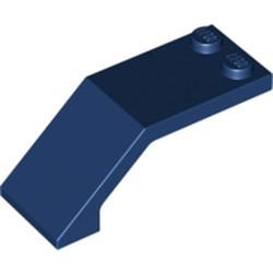 Dark Blue Windscreen 5 x 2 x 1 2/3 - used