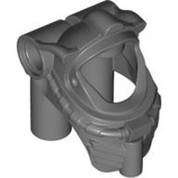 Dark Bluish Gray Minifigure, Headgear Helmet Underwater / Space